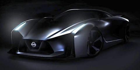 Nissan GT-R :: Vision Gran Turismo concept hints at next Godzilla
