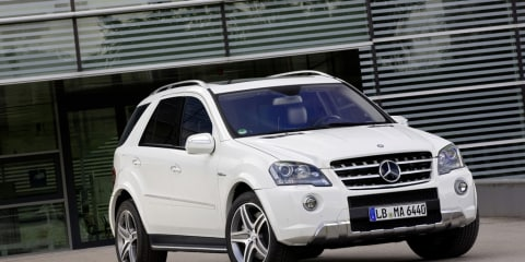 2010 Mercedes-Benz ML 63 AMG unveiled