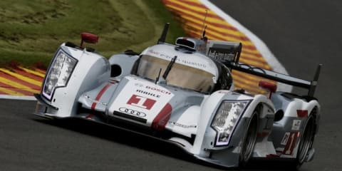 Audi R18 e-tron diesel-hybrid headed for Le Mans