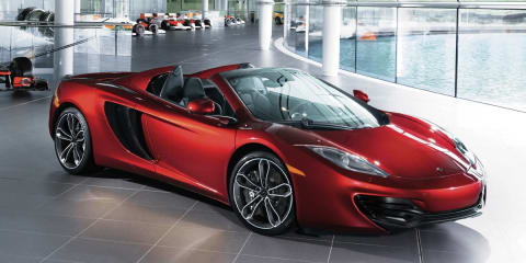 McLaren MP4-12C Spider Neimen Marcus Edition makes Christmas list