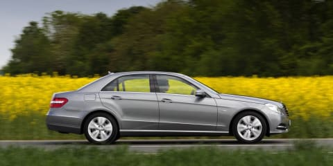 Mercedes-Benz E-Class BlueEFFICIENCY offers improved economy