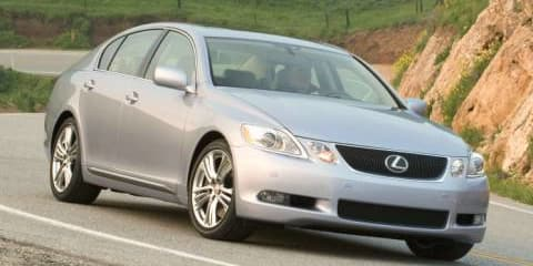 Lexus GS450h now for hire