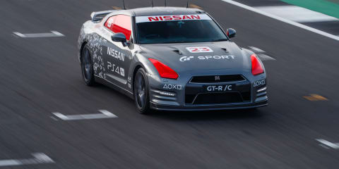 Nissan GT-R/C is a full-size remote control car with a difference