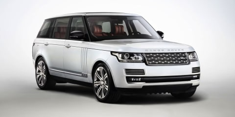 Range Rover LWB: stretched SUV due in 2014