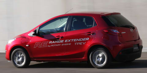Mazda 2 EV Rotary Range Extender Review: Quick Drive