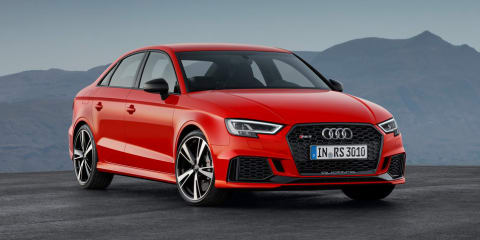 Audi RS3 production halted due to WLTP, set to resume in 2019