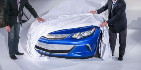 Chevrolet Volt pokes its head out at owners event