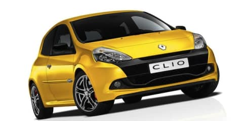 2012 Clio Renault Sport 200 Cup: new features, same price