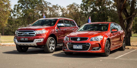 Ford Everest v Holden Sportwagon: 2016 Australia Day Special