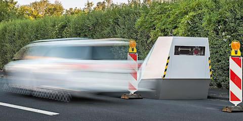 Vitronic's bulletproof Enforcement Trailer autonomously snaps speeding drivers