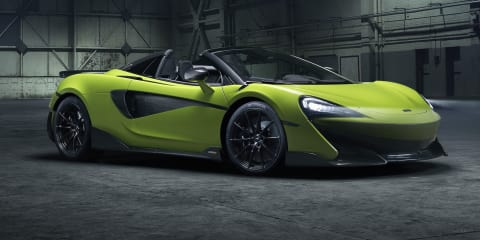 2019 McLaren 600LT Spider revealed