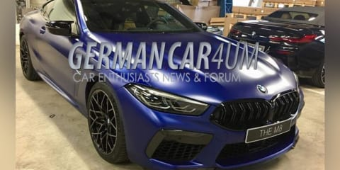 2019 BMW M8 Competition spied undisguised