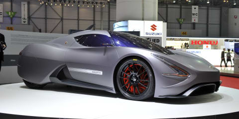 Abarth SCORP-ION Coupe Concept at Geneva