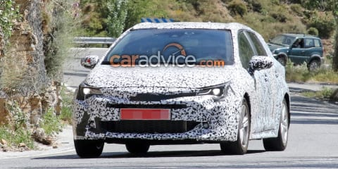 2019 Toyota Auris wagon spied