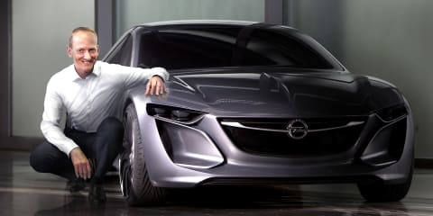Opel Monza concept previews new design philosophy