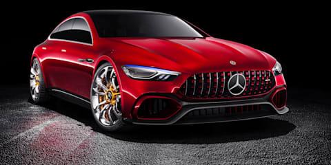 Mercedes-AMG GT 4-Door PHEV coming