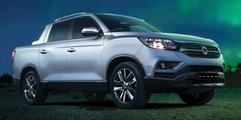 2018 Ssangyong Rexton Sports ute unveiled