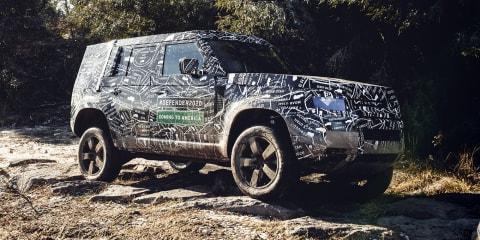 Land Rover Defender: Extreme off-road and SVR versions could be on the cards