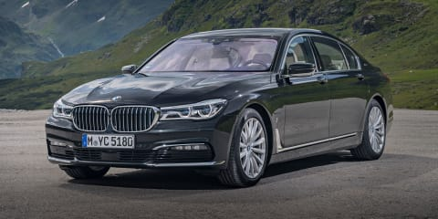 2017 BMW 740e iPerformance plug-in hybrid detailed