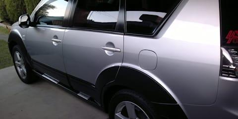 2007 MITSUBISHI OUTLANDER VR-X LUXURY (7 SEAT)