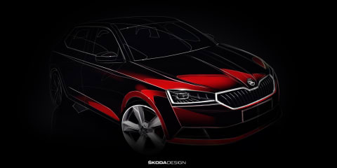 2019 Skoda Fabia teased ahead of Geneva