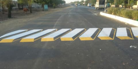 India trialling 'virtual' speed bumps