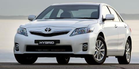 Toyota Camry Hybrid Revealed