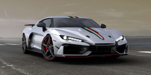 Italdesign's first limited edition supercar revealed