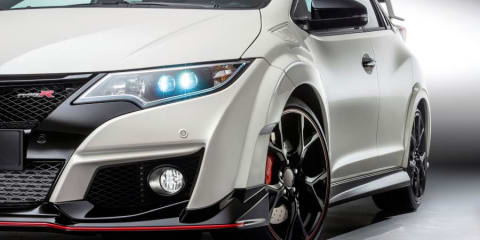 Honda Civic Type-R Australian launch cloudy