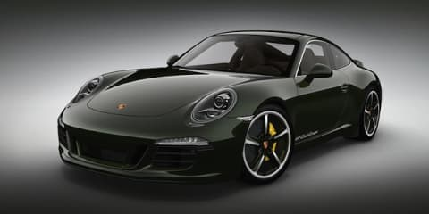 Porsche 911 Club Coupe: limited edition marks 60 years
