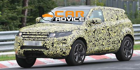 Range Rover Evoque Testing at Nurburgring Spy Photos