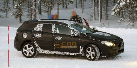 Volvo V40 Spy Photos