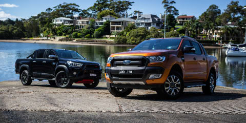 April 2017 new vehicle sales, HiLux and Ranger still on top