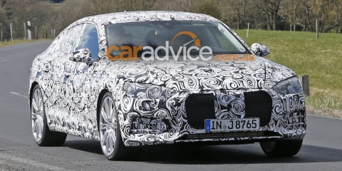 2017 Audi S5 Sportback spied testing