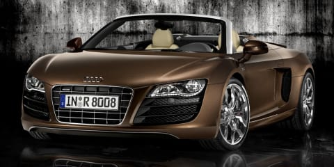 2010 Audi R8 Spyder 5.2 FSI quattro official reveal
