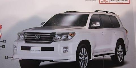 2012 Toyota LandCruiser 200 Series leaked in brochure