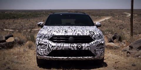 2019 Volkswagen T-Roc teased in new video - UPDATE: Australian debut over a year away