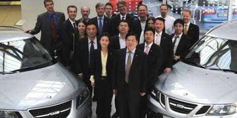 Saab sold to China's Pang Da and Youngman for 100M euro