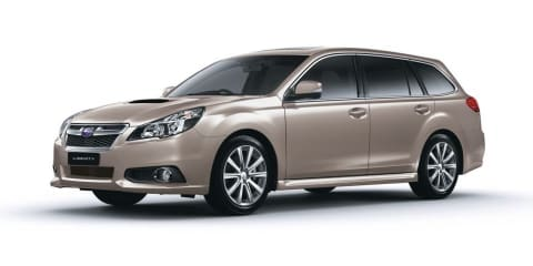 Subaru Liberty :: sedan only for new-generation mid-size model