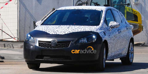 2015 Opel Astra spied :: General Motors' new small car could come to Australia