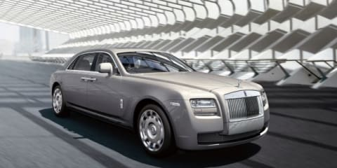 Rolls-Royce: New Cars 2012
