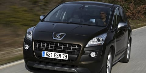 2012 Peugeot 3008: New features, new price