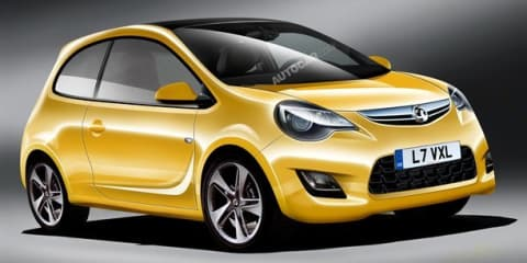 Vauxhall Junior new city car to rival MINI and Fiat 500