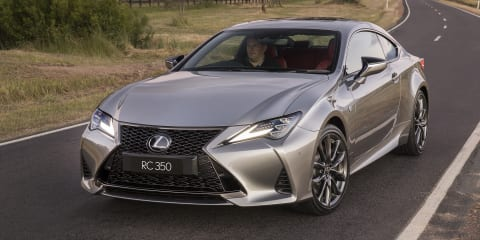 2019 Lexus RC pricing and specs