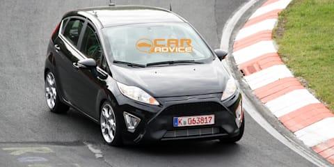 2012 Ford Fiesta ST revealing spy shots