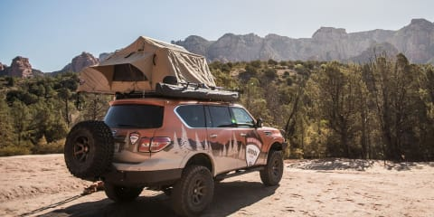 Nissan Armada Mountain Patrol debuts in full