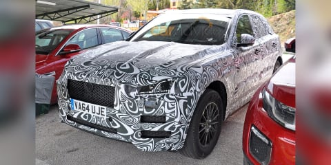 Jaguar F-Pace interior and exterior spy photos