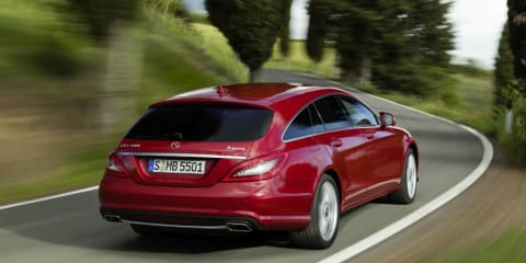 Mercedes-Benz CLS Shooting Brake: 'four-door coupe' wagon unveiled