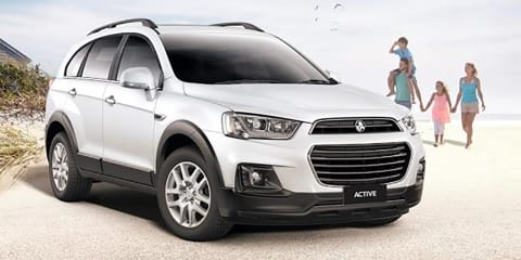 2016 Holden Captiva Active on sale