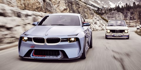 BMW 2002 Hommage revealed for Concorso d'Eleganza Villa d'Este
